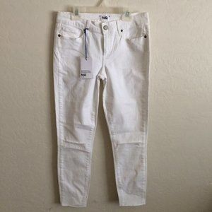 Paige White Destructed Jeans 29 NEW